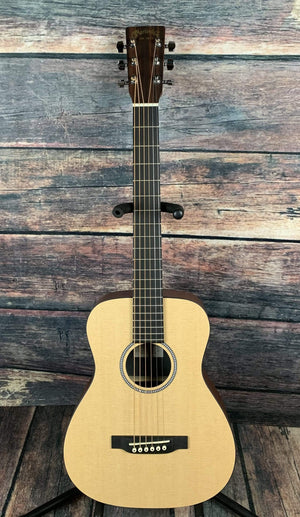 C.F. Martin Guitars Acoustic Guitar Martin LX1 Little Martin Acoustic Short Scale Guitar with Gig Bag- Natural