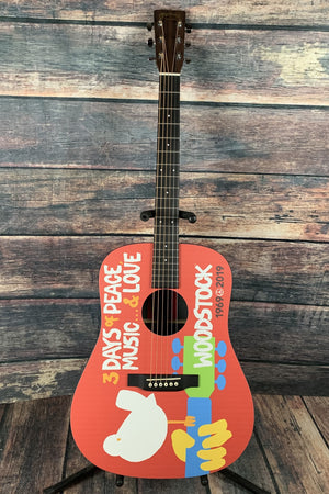 C.F. Martin Guitars Acoustic Guitar Martin X-Series DX Woodstock 50th Anniversary Acoustic Electric Guitar