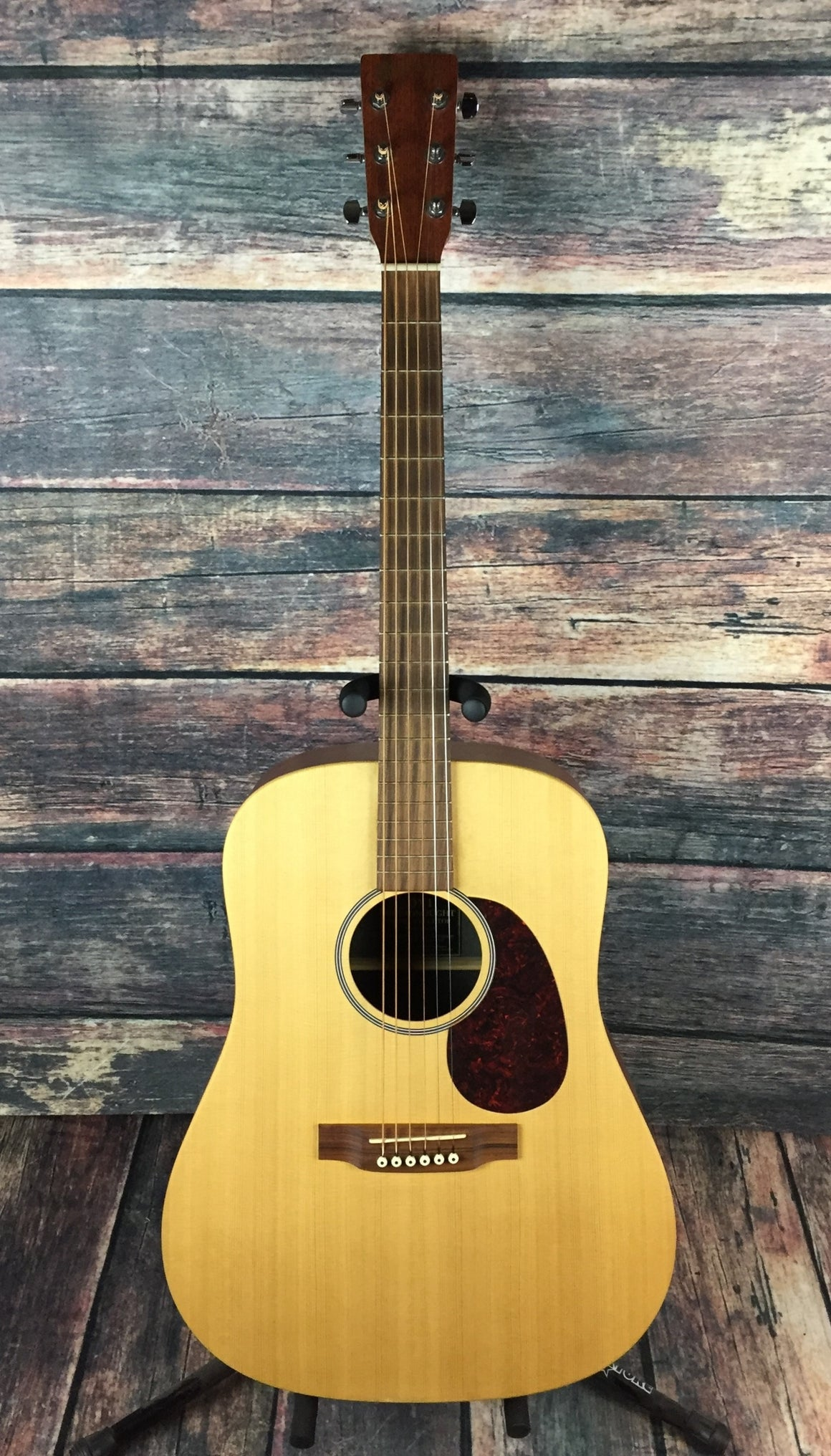 C.F. Martin Guitars Acoustic Guitar Used Martin 2004 Right Handed USA DX1 Acoustic Guitar with Hard Shell Case