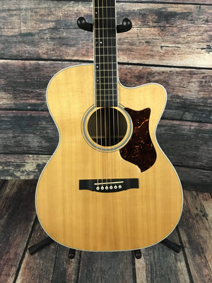 C.F. Martin Guitars Acoustic Guitar Used Martin 2009 OMCPA3 Performing Artist Acoustic Electric Guitar with Hard Shell Case