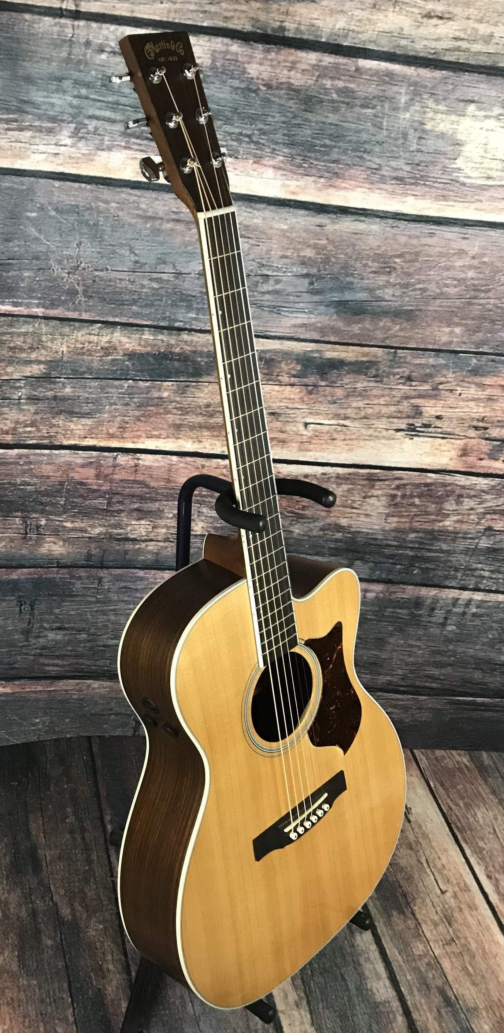 used martin 2009 omcpa3 performing artist acoustic electric guitar wit. Black Bedroom Furniture Sets. Home Design Ideas