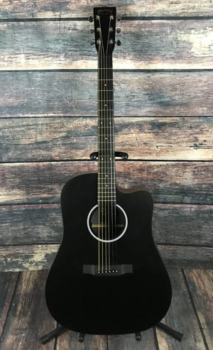 C.F. Martin Guitars Acoustic Guitar Used Martin DCXAE X Series Dreadnought Acoustic Electric Guitar with Case