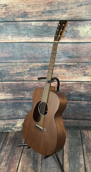 C.F. Martin Guitars Acoustic Guitar Used Martin Left Handed 000-15M Mahogany Acoustic Guitar with Case