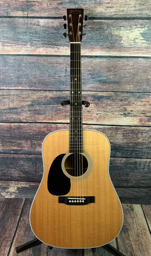 C.F. Martin Guitars Acoustic Guitar Used Martin Left Handed 2013 D-28 USA Made Acoustic Guitar with Martin Case