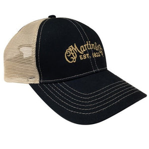 C.F. Martin Guitars apparel Martin 18NH0030 Mesh Trucker Hat with CFM Logo