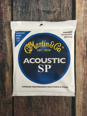 C.F. Martin Guitars Bass Strings Martin MSP4850 Medium SP Acoustic Bass String