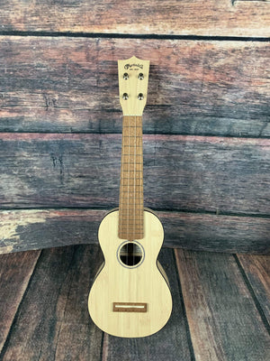 C.F. Martin Guitars Other Stringed Martin Left Handed OXUKEBAMBOO OX Bamboo Soprano Ukelele with Bag
