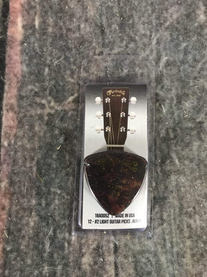 C.F. Martin Guitars Pick Martin 18A0052 #2 .46MM Light Pick Pack