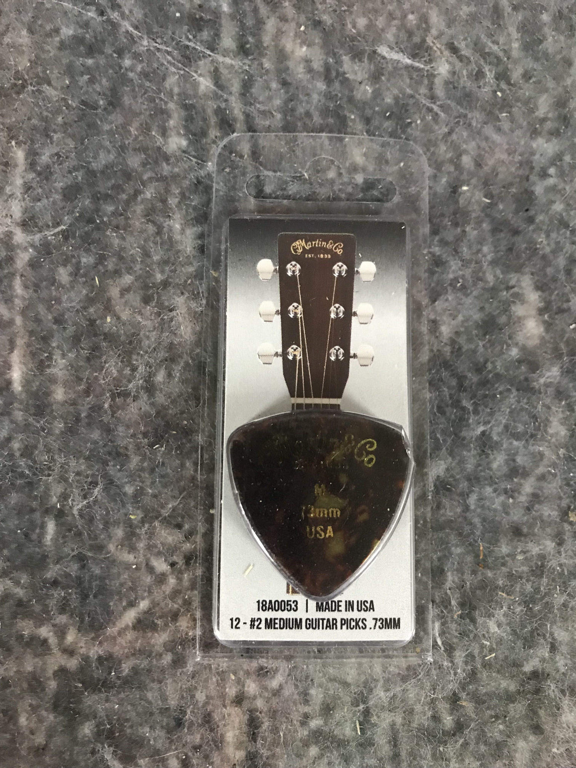 C.F. Martin Guitars Pick Martin 18A0053 #2 .73MM Medium Pick Pack