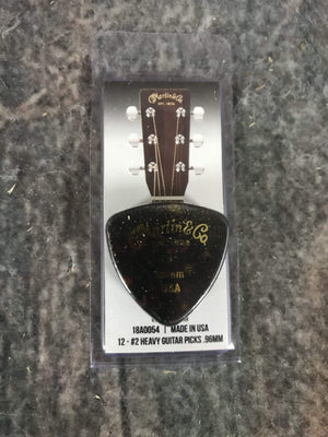 C.F. Martin Guitars Pick Martin 18A0054 #2 .96MM Heavy Pick Pack