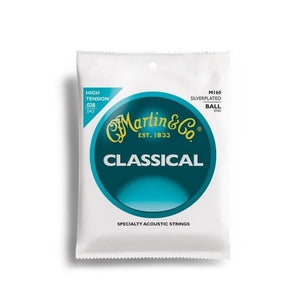C.F. Martin Guitars Strings Martin M160 Ball End Silver Plated Nylon Classical Strings