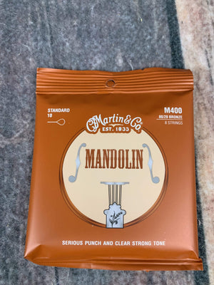 C.F. Martin Guitars Strings Martin M400 Standard Mandolin Strings