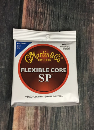 C.F. Martin Guitars Strings Martin MFX750 Medium Flexcore Acoustic Guitar Strings