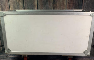 Used Calzone 2x12 Road Case- White