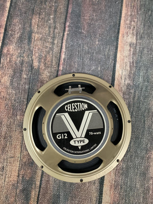 Celestion Amp Used Celestion G-12 V Type 70-watt 12in Speaker with Box