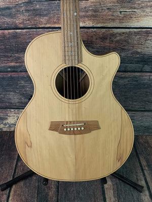 Cole Clark AN2EC-BB ANGEL 2 EC Bunya Face Australian Blackwood Back and Sides Acoustic Electric Guitar
