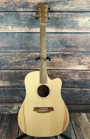Cole Clark Acoustic Guitar Cole Clark Fat Lady 1 EC FL1EC-BM Bunya Face Acoustic Electric Guitar