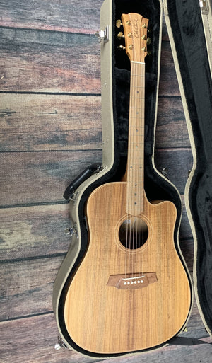 Cole Clark Acoustic Guitar Cole Clark FL2EC-BLBL Fat Lady 2 EC Australian Blackwood Acoustic Electric Guitar