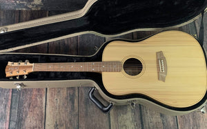 Cole Clark FL2EBB Fat Lady 2 E Bunya Face Australian Blackwood Back and Side Acoustic Electric Guitar