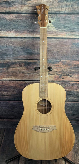Cole Clark Acoustic Guitar Cole Clark FL2EL- Left Handed Fat Lady 2 E Bunya Face Australian Blackwood Back and Side Acoustic Electric Guitar