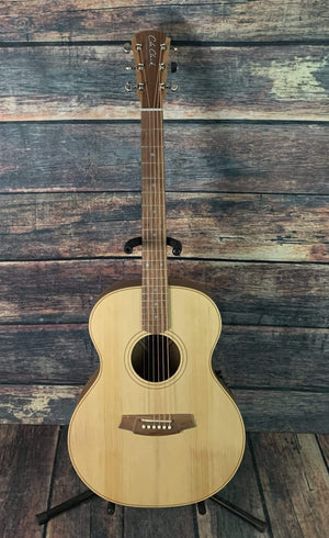 Cole Clark Acoustic Guitar Cole Clark Left Handed AN2ELHBB ANGEL 2 E Bunya Face Australian Blackwood Back and Sides Acoustic Electric Guitar