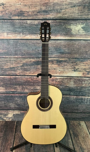 Cordoba Classical Guitar Cordoba Left Handed GK Studio Acoustic Electric Classical Guitar