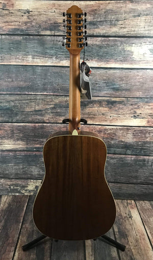 Crafter Acoustic Guitar Crafter Left handed D8-12EQ/N LH Acoustic Electric 12 String Guitar