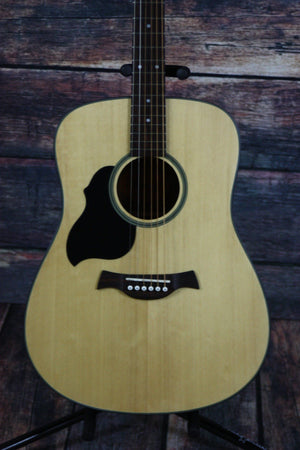 Crafter Acoustic Guitar Crafter Left Handed LITE D Solid Top Dreadnought Acoustic Guitar