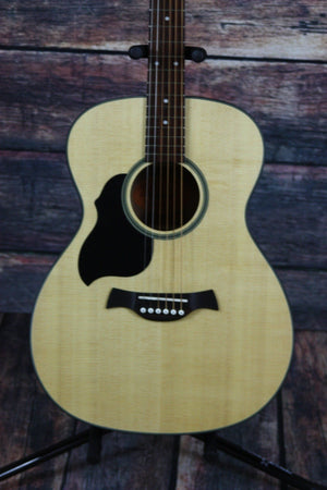 Crafter Acoustic Guitar Crafter Left Handed LITE-T LH/SP Orchestra Model Acoustic Guitar with Solid Top