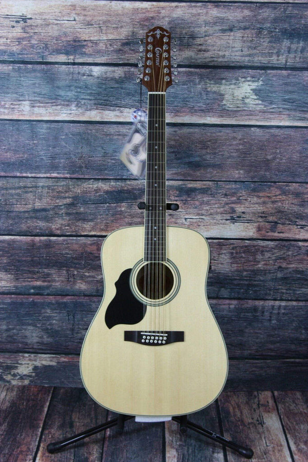crafter left handed md50 12 n 12 string acoustic guitar. Black Bedroom Furniture Sets. Home Design Ideas