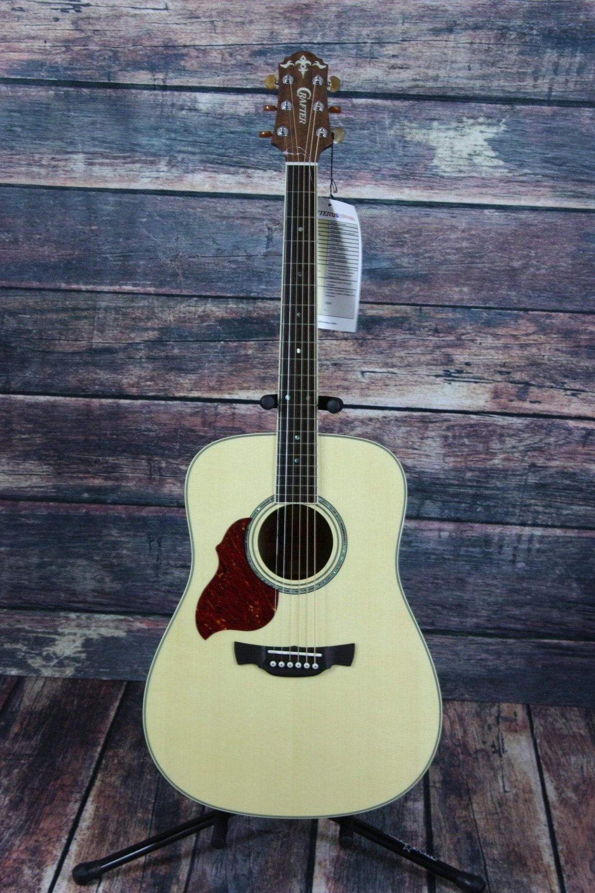 Crafter Acoustic Guitar Guitar Only Crafter Left Handed D8/N Acoustic Guitar