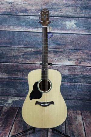 Crafter Acoustic Guitar Guitar Only Crafter Left Handed LITE D Solid Top Dreadnought Acoustic Guitar