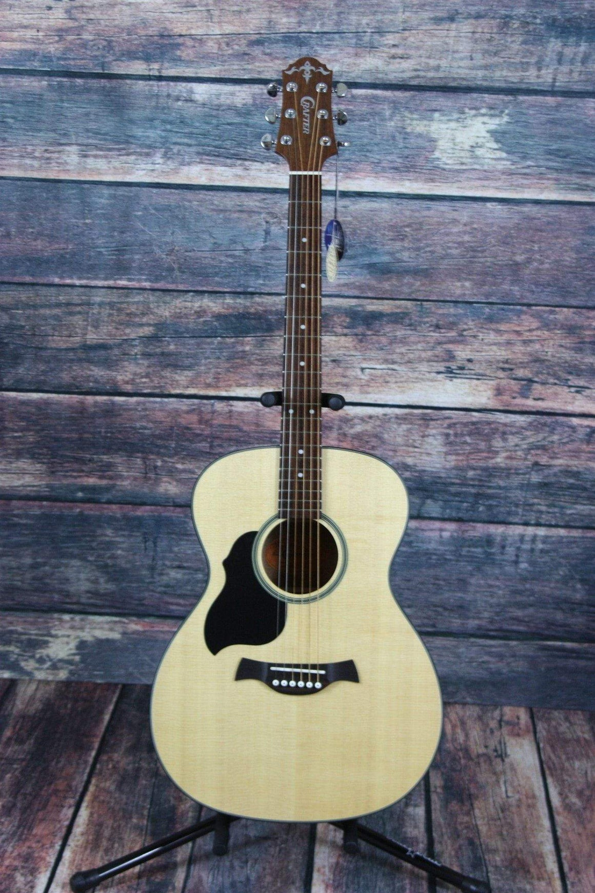 Crafter Acoustic Guitar Guitar Only Crafter Left Handed LITE-T LH/SP Orchestra Model Acoustic Guitar with Solid Top