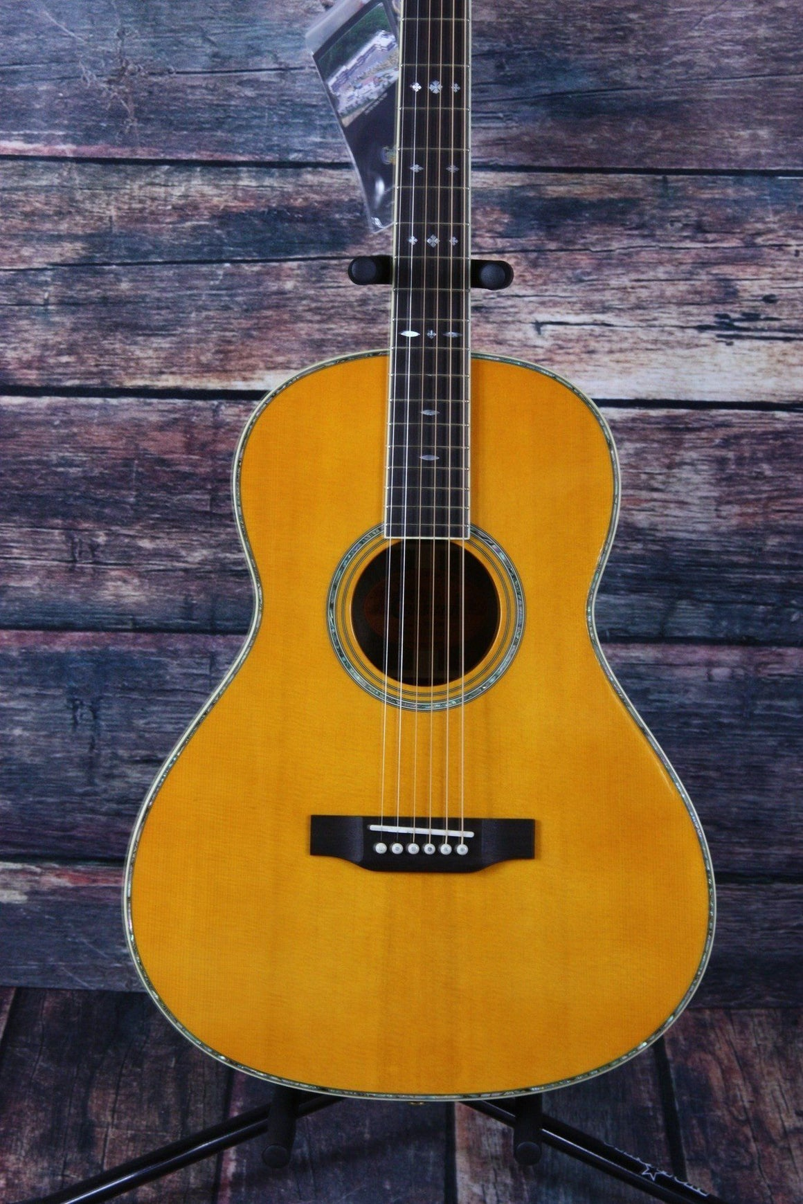 Crafter Acoustic Guitar Crafter Left Handed TA-080/AM Parlor Acoustic Guitar