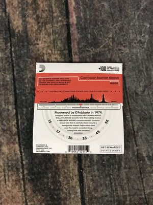 D'Addario Acoustic Guitar Strings D'Addario EJ17 Phosphor Bronze Medium Gauge Acoustic Guitar Strings