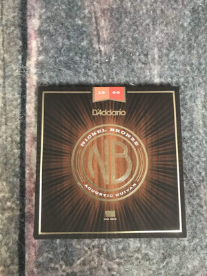 D'Addario Acoustic Guitar Strings D'Addario NB11356 Nickel Bronze Medium Acoustic Guitar Strings