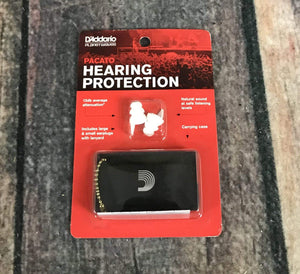 D'Addario Ear Plugs D'Addario Planet Waves Pacato Hearing Protection Ear Plugs