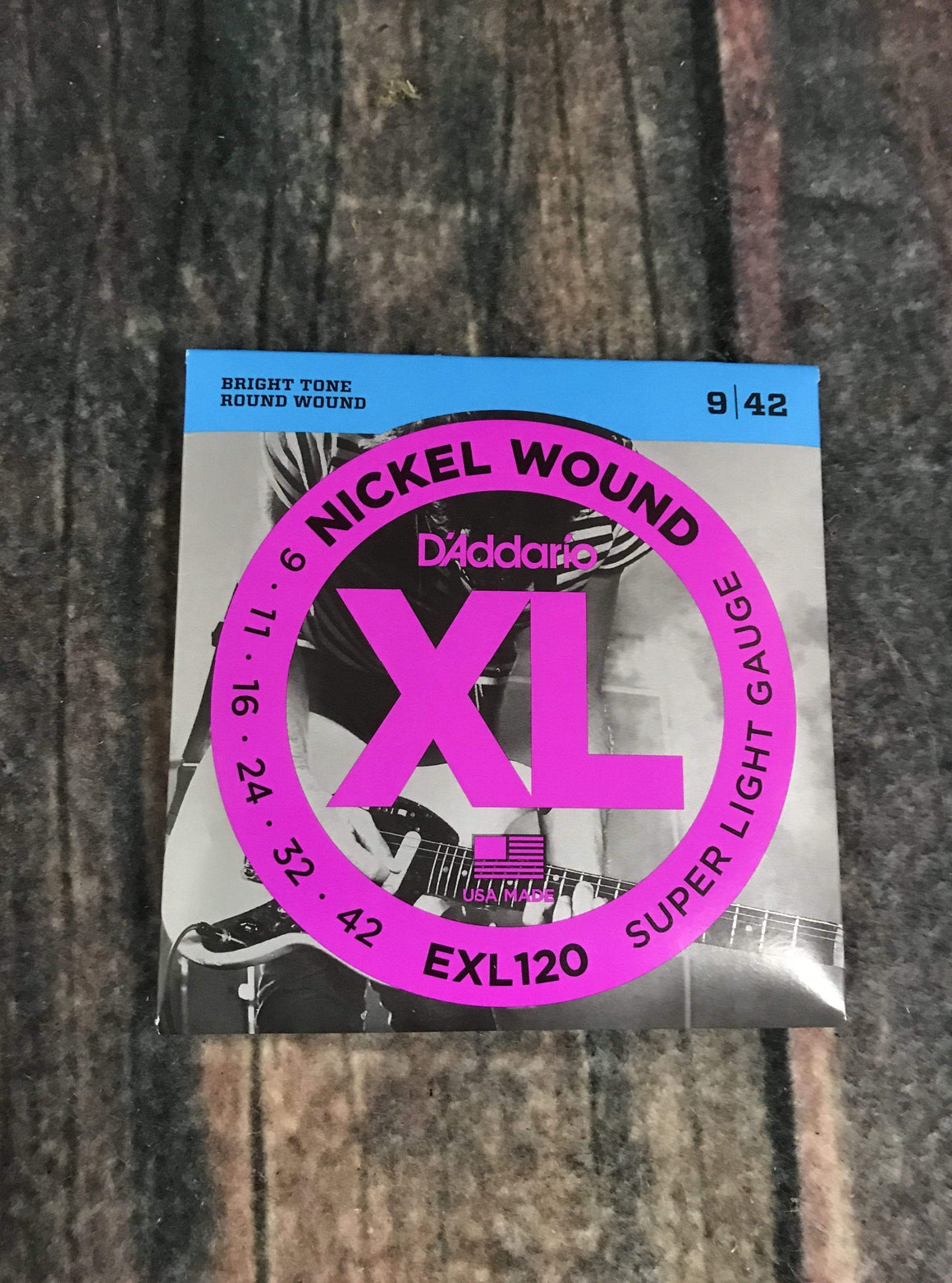 D'Addario Electric Guitar Strings D'Addario EXL 120 Super Light 9-42 Electric Guitar Strings