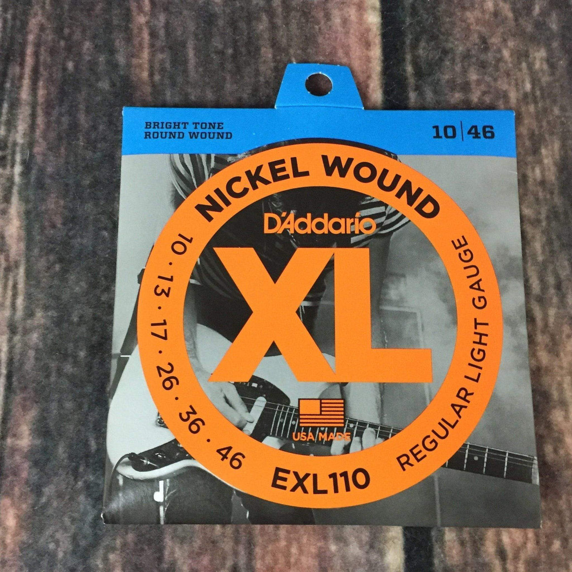 D'Addario Electric Guitar Strings D'Addario EXl110 Light Electric Guitar Strings