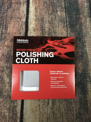 D'Addario Maintenance D'Addario Planet Waves PWPC1 Pre-Treated Polish Cloth
