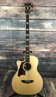 D'Angelico Acoustic Bass D'Angelico Left Handed Excel Mott Acoustic Electric Bass
