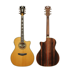 D'Angelico Acoustic Guitar D'Angelico Excel Gramercy Acoustic Electric Guitar- Vintage Natural