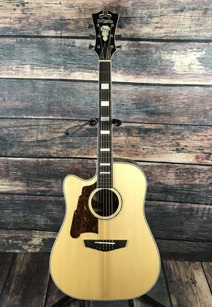 D'Angelico Acoustic Guitar Default Title D'Angelico Left Handed Premier Bowery Acoustic Electric Guitar