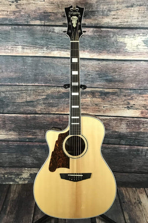 D'Angelico Acoustic Guitar Default Title D'Angelico Left Handed Premier Gramercy Acoustic Electric Guitar