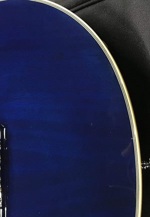 D'Angelico Electric Guitar D'Angelico Left Handed Premier SD Electric Guitar - Blue