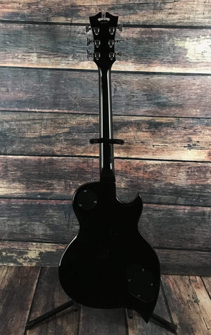 D'Angelico Electric Guitar D'Angelico Left Handed Premier TD Electric Guitar - Black