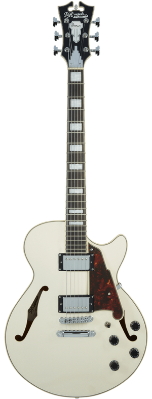 D'Angelico Electric Guitar D'Angelico Premier SS Semi-Hollow Electric Guitar- Champagne Stop TailPiece