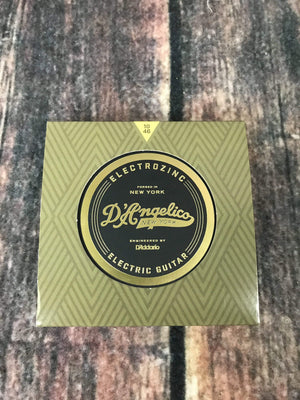 D'Angelico Electric Guitar Strings D'Angelico DAR1046 ElectroZinc 10-46 Gauge Electric String