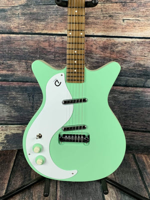 Danelectro Electric Guitar Danelectro Left Handed '59 Modified  NOS Electric Guitar- Seafoam Green