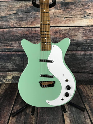 "Danelectro Electric Guitar Danelectro ""Stock 59"" Electric Guitar- Aqua"